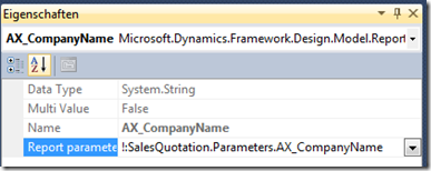 Broken parameter in duplicated SSRS report