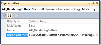 Broken parameter in duplicated report
