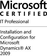 MCIT Dynamics AX 2009 Installation & Configuration