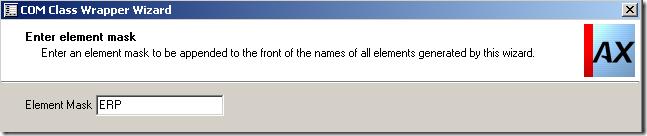 Provide Prefix in Axapta COM Wrapper Wizard