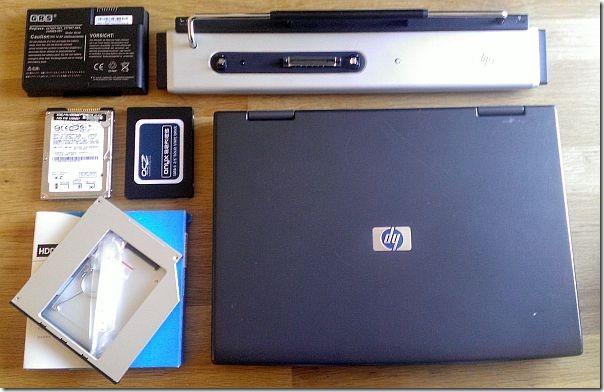 HP nx7010 Upgade Hardware