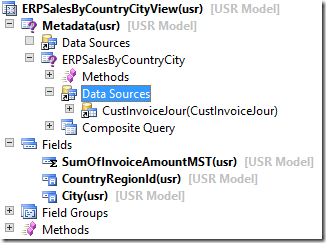 Create a view for the query