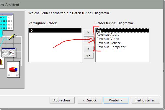 Add data fields to diagram