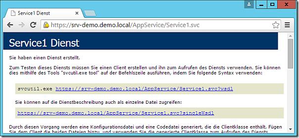 Test JSON App Service