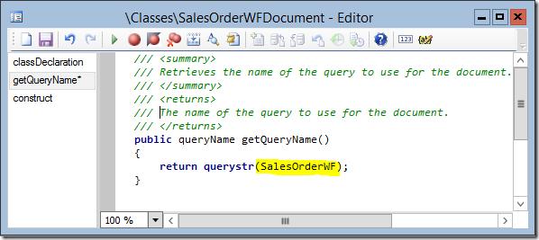Workflow Document Class