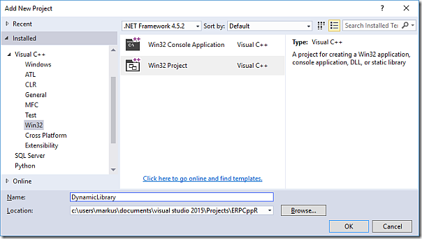 How to Develop a C++ DLL for R in Visual Studio 2015 | ErpCoder