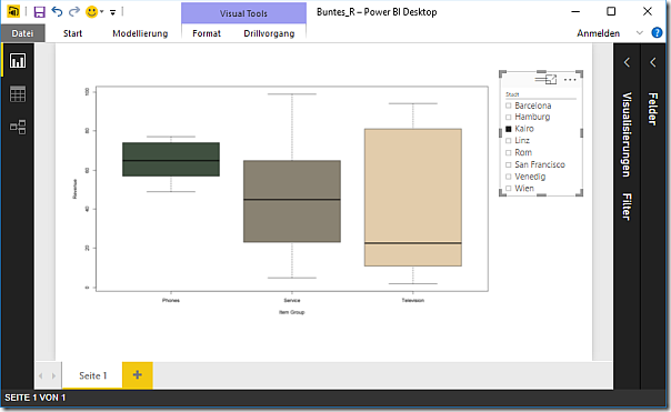 R Diagram in Power BI with dynamic color