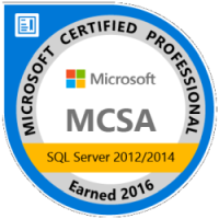 MCSA SQL Server 2012 / 2014