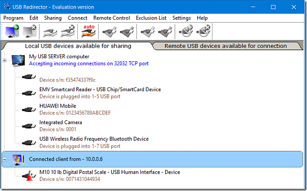 USB Redirect
