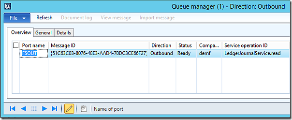 AIF Queue Manager