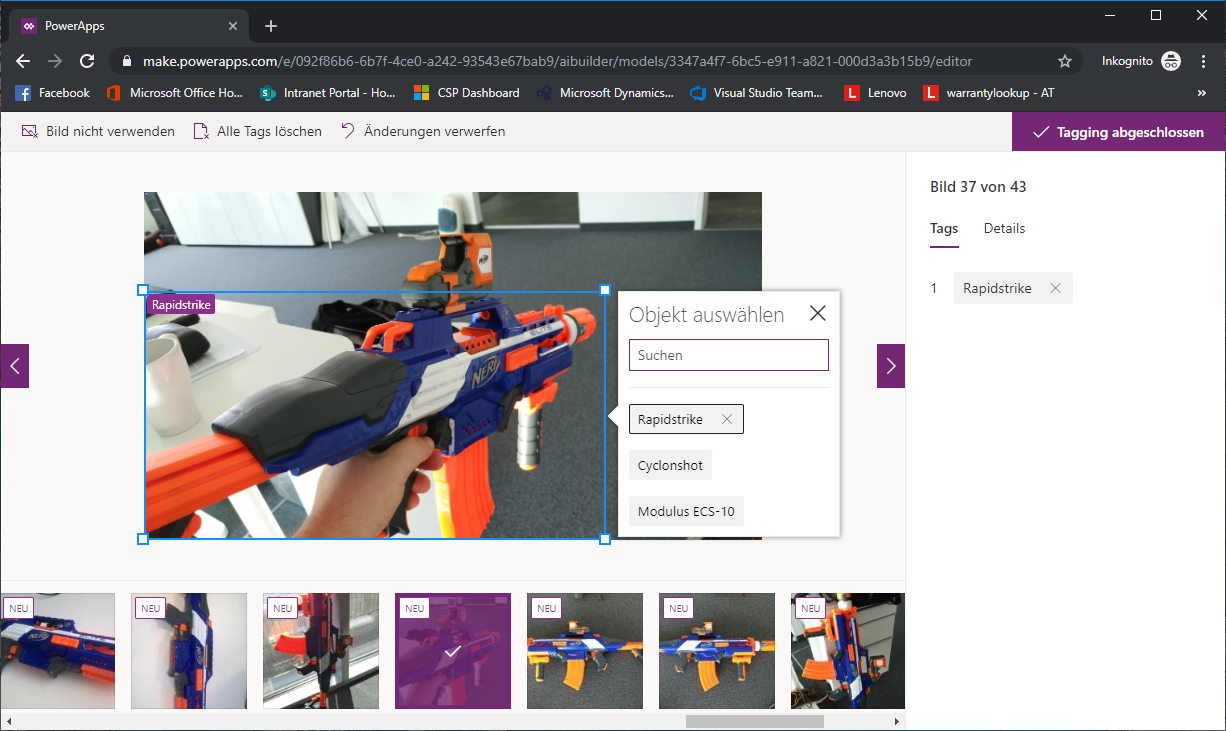 Object Detection with PowerApps AI Builder   ErpCoder