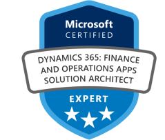 Dynamics 365 Finance and Operations Solution Architect
